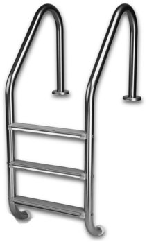 Picture of item 970-389 a Pool Ladder Accessories.  Stainless Steel Sure Step Ladder Tread.