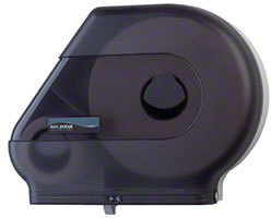 Picture of item 968-431 a San Jamar Jumbo Tissue Dispenser with Stub Roll.