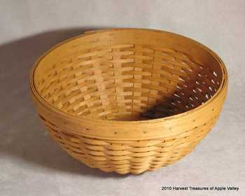 Picture of item 969-519 a BASKET ROUND BOWL.
