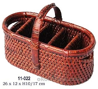 Picture of item 969-520 a Basket.  5-Section Round.