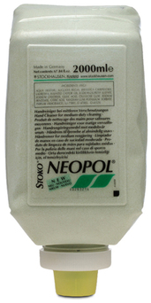Picture of item 670-521 a HAND SOAP NEOPOL 2000 ML. FOR LIGHT TO MEDIUM DUTY CLEANING SOLVENT FREE.