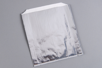 "Picture of item 209-310 a Sandwich Bag.  Foil Lined.  6"" x 3/4"" x 6-1/2"".  Unprinted."