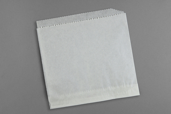 "Picture of item 209-306 a Sandwich Bag.  Dry-Waxed Paper (Open Top and Side).  7"" x 6-1/2""."