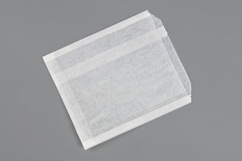 "Picture of item 971-822 a Sandwich Bag.  Grease Resistant Paper.  6-1/2"" x 1"" x 8"".  Conventional Style.  Plain, Unprinted."