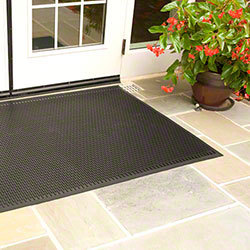 Picture of item 965-255 a Superscrape™ Indoor/Outdoor Floor Mat. 4 X 6 ft. Black.