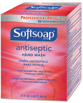 Picture of item 970-623 a Softsoap® Antiseptic Hand Wash.  800 mL Refill.