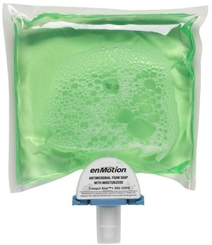 Picture of item GEP-42816 a enMotion® Antimicrobial Foam Soap with Moisturizers. 1200 mL Refill.  2 Refills/Case.