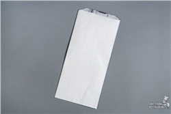 "Picture of item 209-252 a Foil-In Thermal Bag.  For Hot Foods.  6-1/2"" x 4-3/8"" x 14"".  1/2 Gallon Size.  Plain."