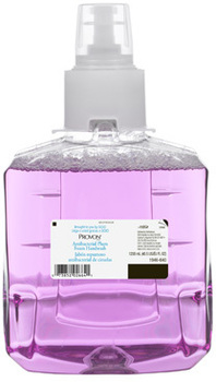 Picture of item 670-813 a PROVON® Antibacterial Foam Handwash Refill for LTX-12™ Dispensers. 1200 mL. Plum scent. 2 count.