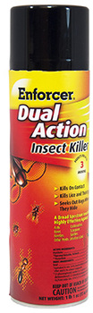 Picture of item 630-303 a Enforcer Dual Action Insect Lice Killer 12/17oz