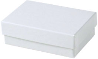 Picture of item 971-399 a Jewelry Boxes. 3 1/16 X 2 1/8 X 1 in. White Krome. 100 count.