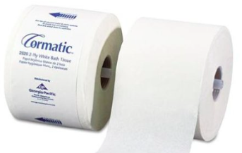 Picture of item 965-570 a CORMATIC 2PLY TISSUE 1000SH/RL